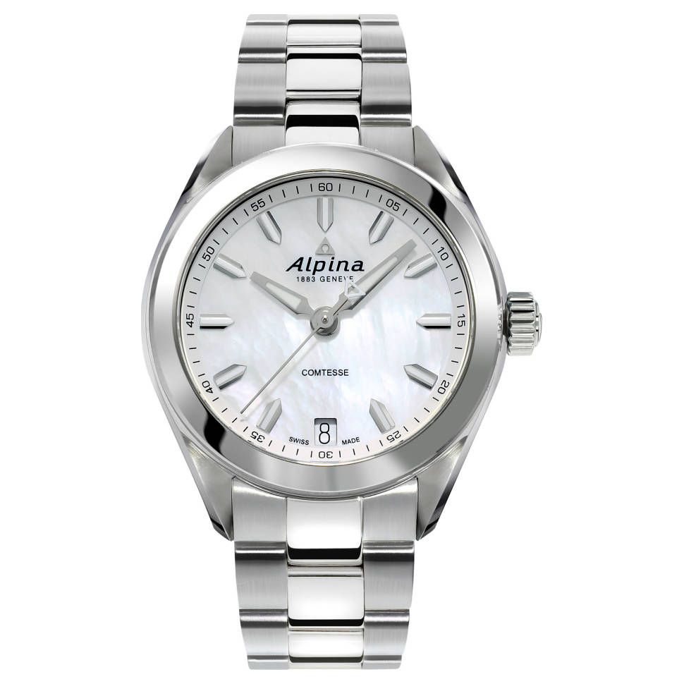 Alpina Comtesse Two Tone Women's Bracelet Watch