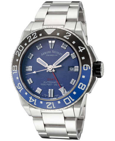 Armand Nicolet Men's Watch A486AGU-BU-MA448