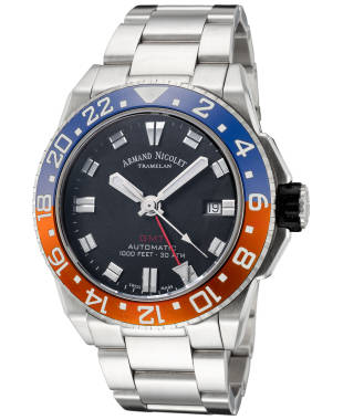 Armand Nicolet Men's Watch A486BGN-NR-MA448