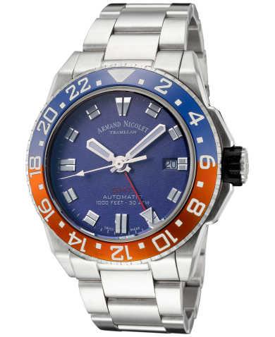 Armand Nicolet Men's Watch A486BGU-BU-MA44