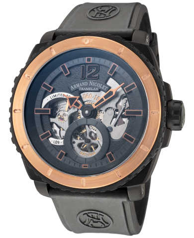 Armand Nicolet Men's Manual Watch S619AQN-BU-G9610