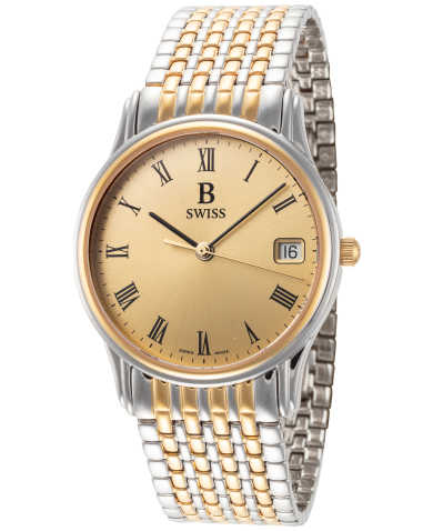 B Swiss by Bucherer Men's Watch 00.50001.34.41.21