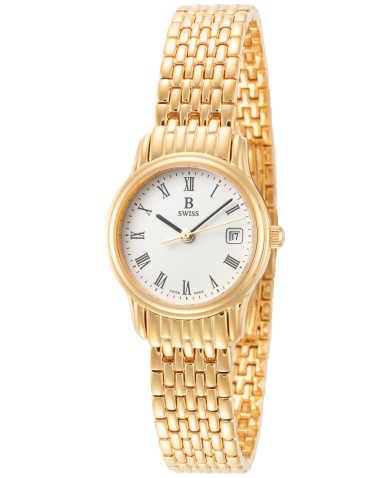 B Swiss by Bucherer Women's Watch 00.50002.10.21.21