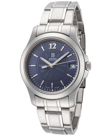 B Swiss by Bucherer Men's Watch 00.50101.08.56.21