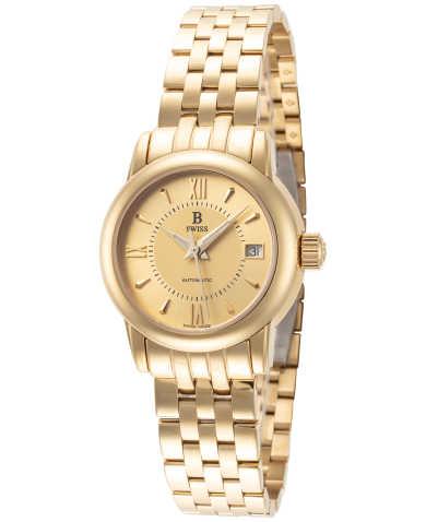 B Swiss by Bucherer Women's Watch 00.50206.10.45.21
