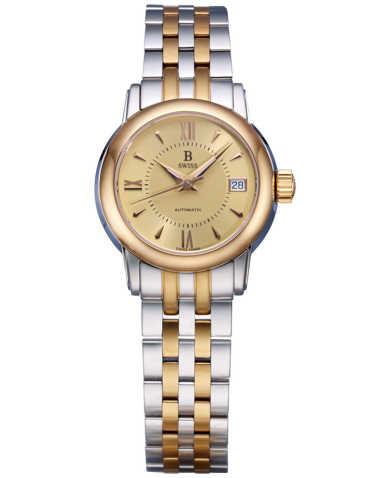 B Swiss by Bucherer Women's Watch 00.50206.35.45.21