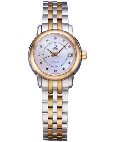 B Swiss by Bucherer Women's Watch 00.50206.35.79.21