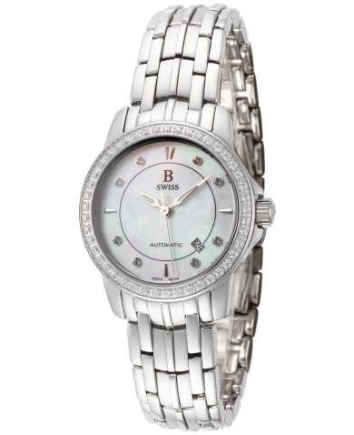 B Swiss by Bucherer Women's Watch 00.50502.08.77.31