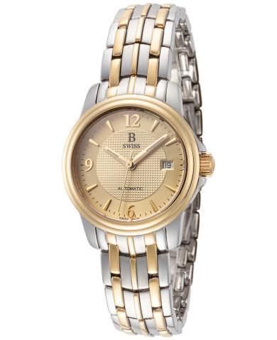 B Swiss by Bucherer Women's Watch 00.50502.34.46.21