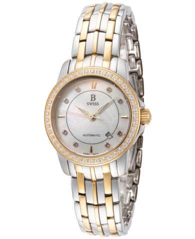B Swiss by Bucherer Women's Watch 00.50502.34.77.31