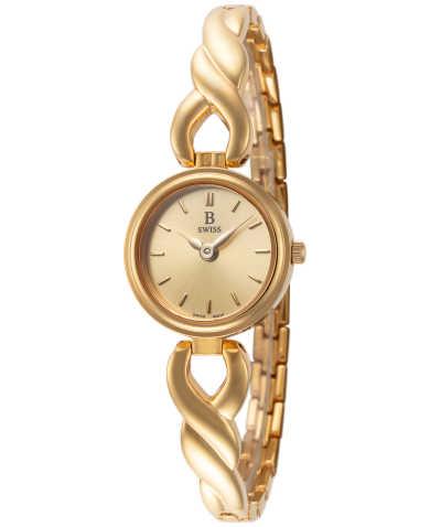 B Swiss by Bucherer Women's Watch 00.90004.10.43.21