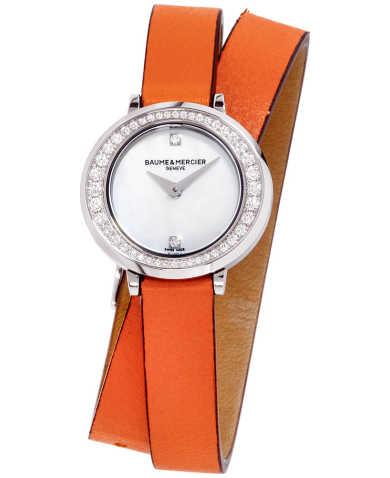 Baume and Mercier Women's Quartz Watch M0A10290