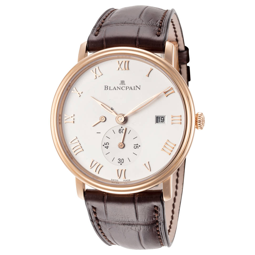 Blancpain Villeret Ultra Slim 18k Rose Gold Men's Watch