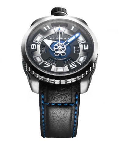 Bomberg Men's Automatic Watch BS45ASS-045-1-3