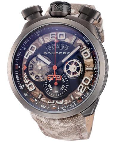 Bomberg Men's Quartz Watch BS45CHPGM-018-3