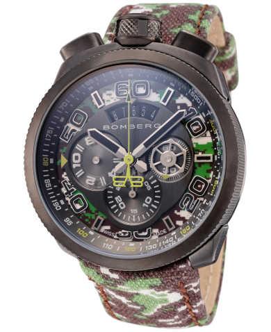 Bomberg Men's Quartz Watch BS45CHPGM-038-3