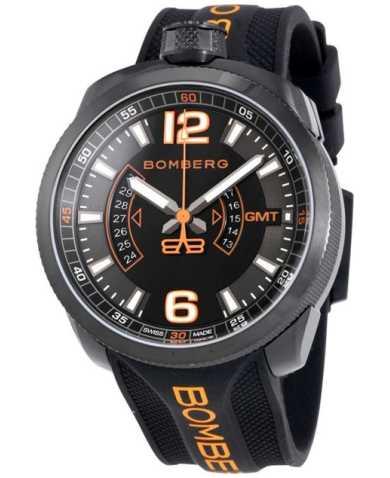 Bomberg Men's Watch BS45GMTPBA-026-3
