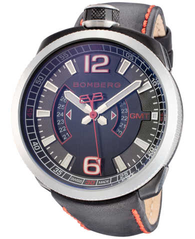 Bomberg Men's Quartz Watch BS45GMTSP-004-3