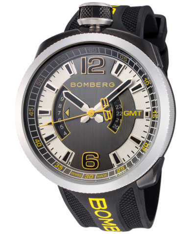 Bomberg Men's Quartz Watch BS45GMTSP-027-3