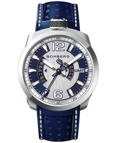 Bomberg Men's Quartz Watch BS45GMTSS-002-3