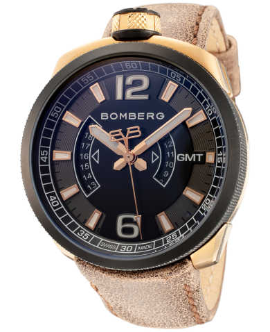 Bomberg Men's Quartz Watch BS45GMTTT-006-3