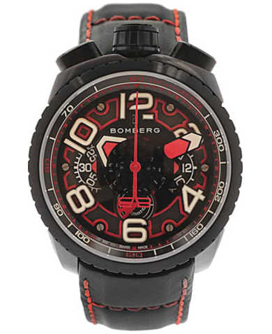 Bomberg Men's Automatic Watch BS47CHASP-041-1-3