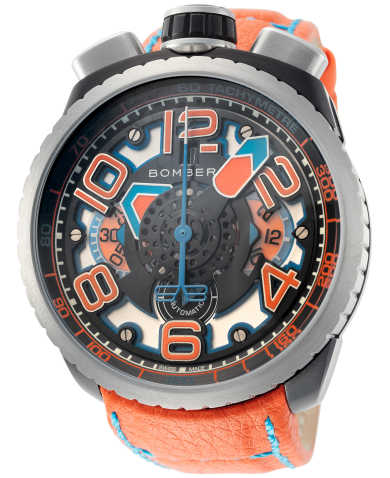 Bomberg Men's Automatic Watch BS47CHASP-041-4-3