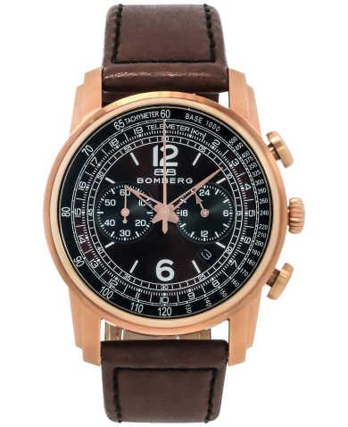 Bomberg Men's Watch SP42CHPGD-BR0-1-LBR