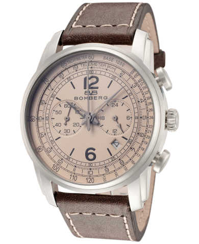 Bomberg Men's Quartz Watch SP42CHSS-BE0-1-LBR