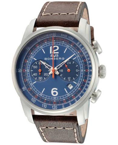 Bomberg Men's Quartz Watch SP42CHSS-BU0-1-LBR