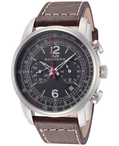 Bomberg Men's Quartz Watch SP42CHSS-GY0-1-LBR