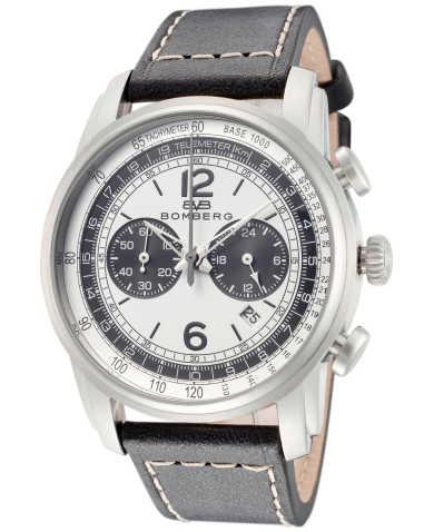 Bomberg Men's Quartz Watch SP42CHSS-WH0-2-LBA