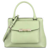 Deals on Bruno Magli Mint Pebble Leather Womens Handbags