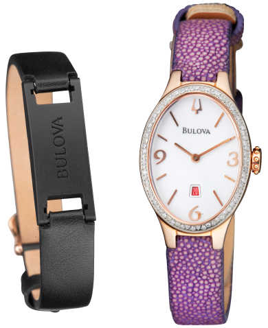 Bulova Women's Quartz Watch 98R198