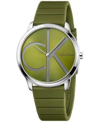 Calvin Klein Men's Quartz Watch K3M211WL