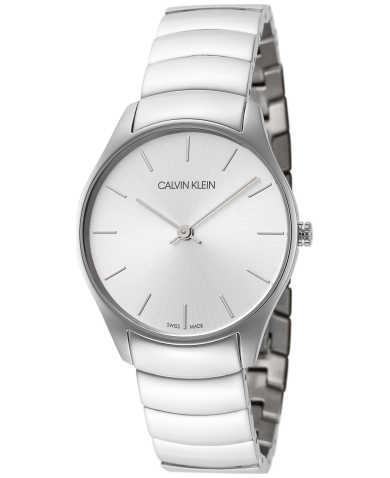 Calvin Klein Women's Quartz Watch K4D22146