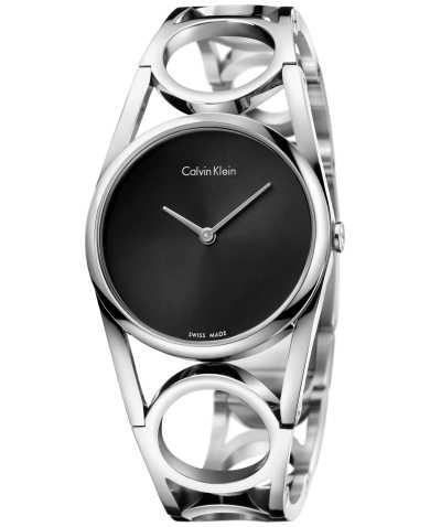 Calvin Klein Women's Quartz Watch K5U2M141