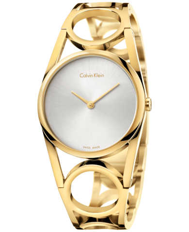 Calvin Klein Round K5U2S546 Women's Watch