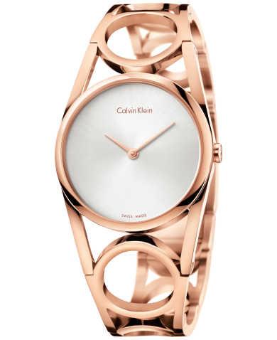 Calvin Klein Women's Quartz Watch K5U2S646