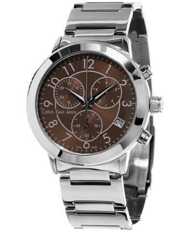 Calvin Klein Jeans Continual Chronograph Men's Quartz Watch K8727176