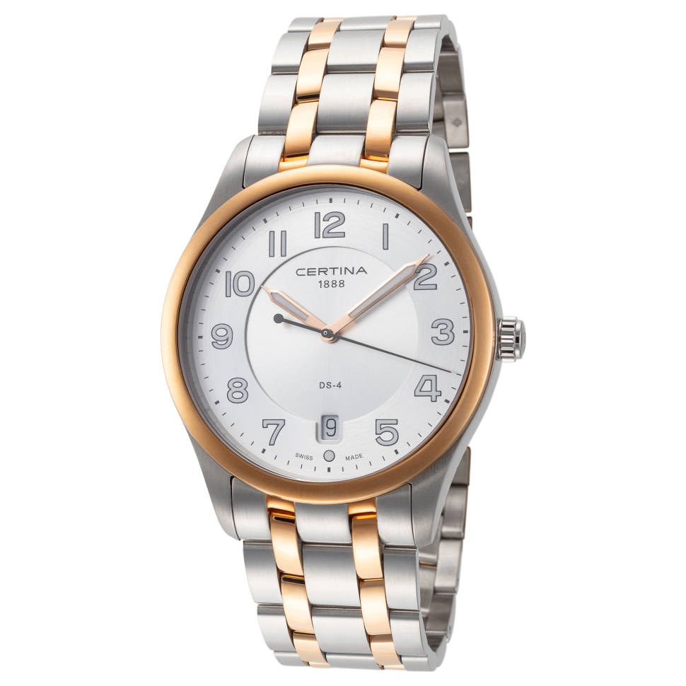 Certina DS-4 Silver Dial Stainless Steel Men's Watch