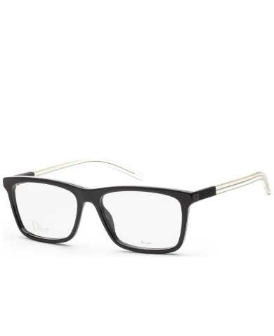 Christian Dior Men's Opticals BLACK215-0OQJ-56-16