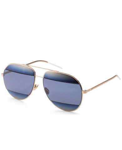 Christian Dior Sunglasses Unisex Sunglasses DIOR-SPLIT1-SHBLUE-GD