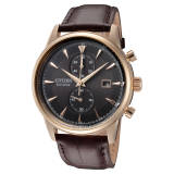Deals on Citizen Eco-Drive Corso Leather Mens Watch