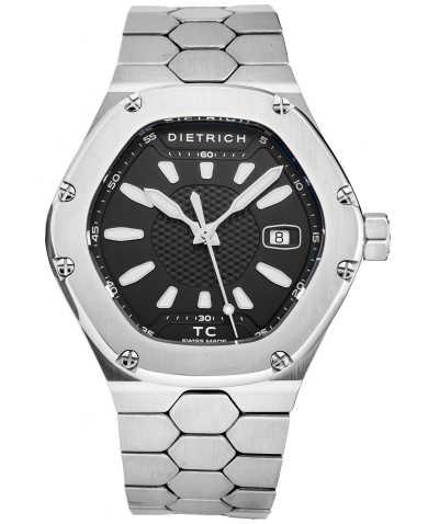 Dietrich Men's Watch TC SS BLACK