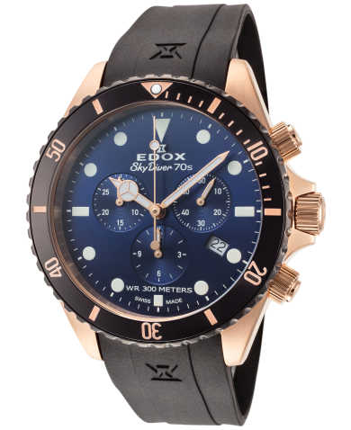 Edox Men's Watch 10238-37RNNCA-BUI