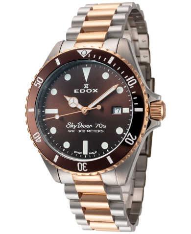 Edox Men's Watch 53017-357RBRM-BRI