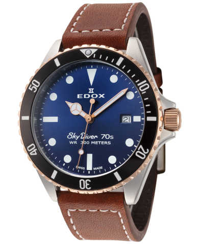 Edox Men's Watch 53017-357RNC-BUI