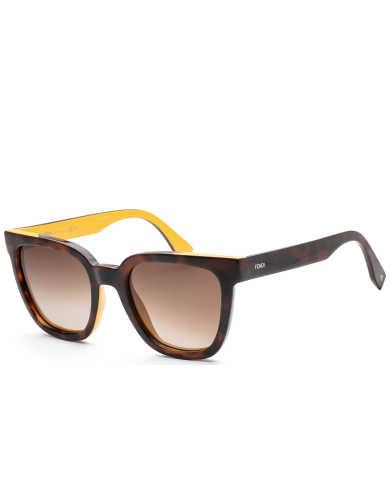 Fendi Women's Sunglasses FF-0121-S-0MFR-51