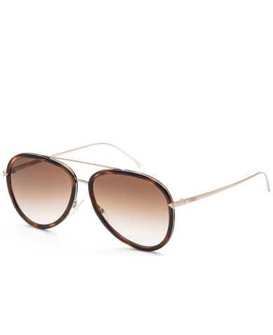 Fendi Women's Sunglasses FF-0155-S-57-0V4Z
